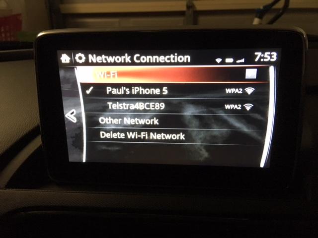 Mazda Mzd Connect Apps >> wifi | 21st Century Fiat & Abarth 124 Spider