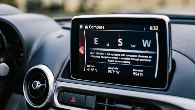 Navigation | 21st Century Fiat & Abarth 124 Spider