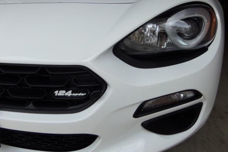 grille emblem on car