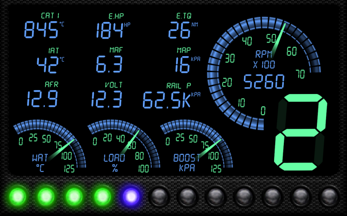 Adding Virtual Gauges, V8 Sound & Trouble Code Analysis
