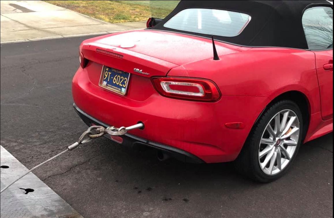 rear tow hook