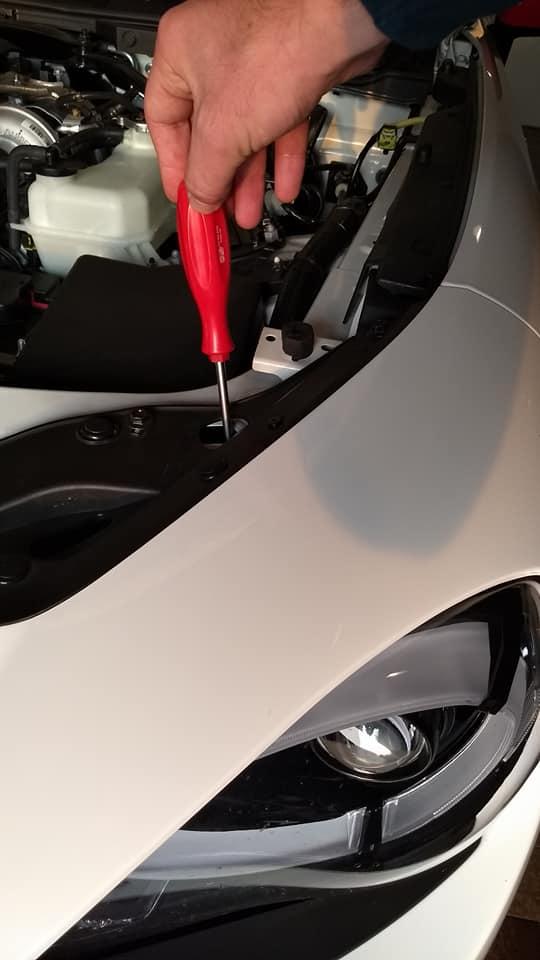 adjusting LED headlights