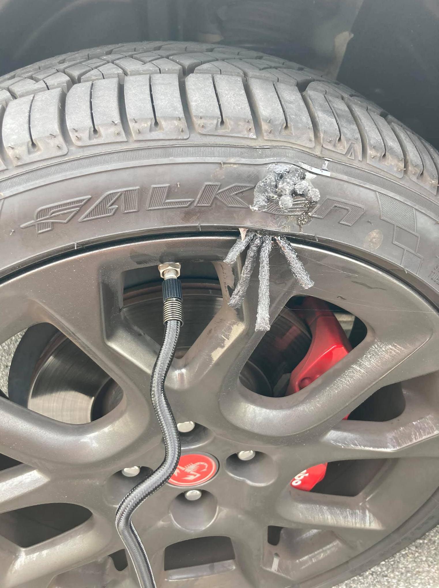 tire plugs sidewall