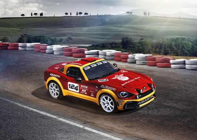 124 rally at track