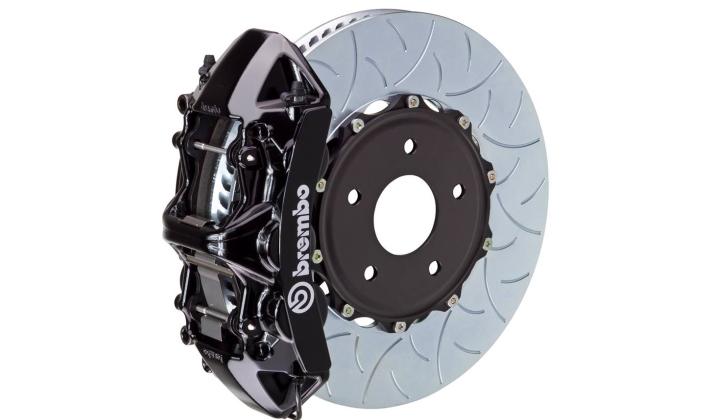 rally black GT brakes