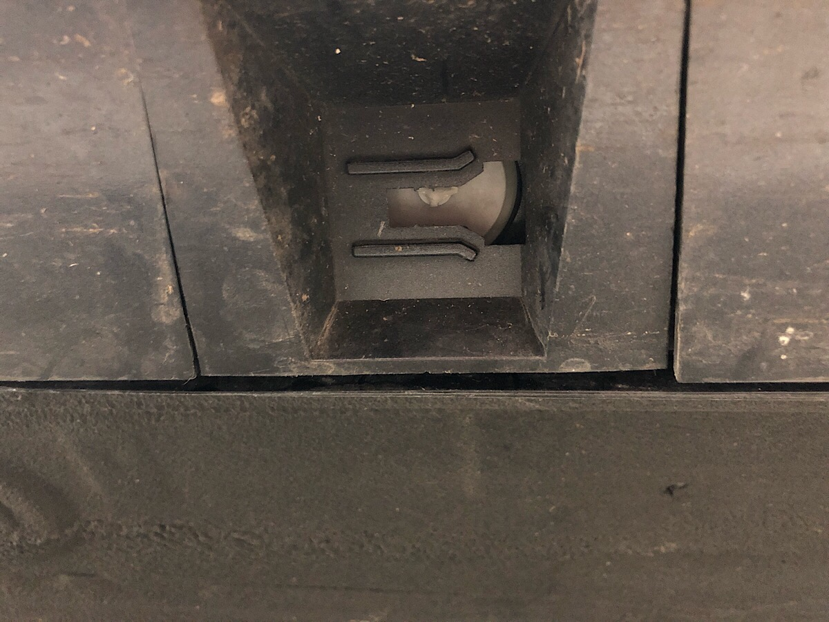 rocker panel clip failure