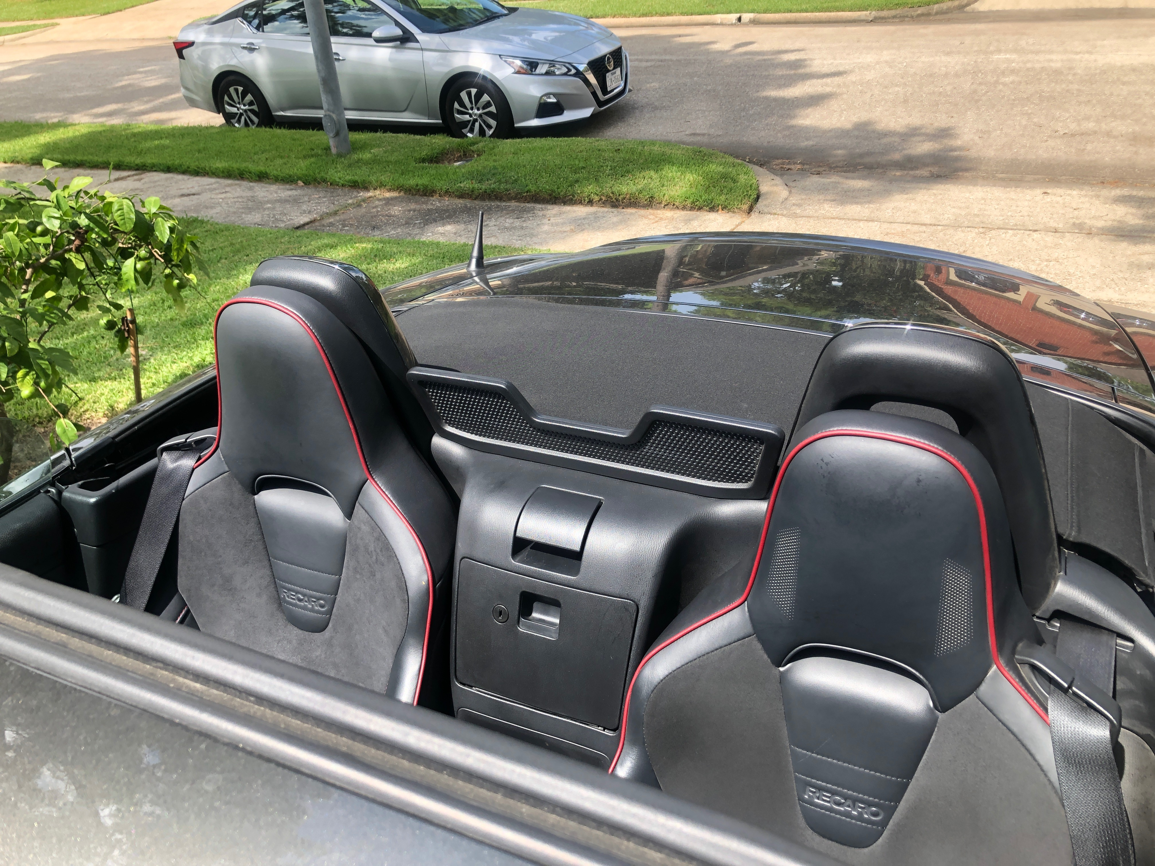 seat lowered
