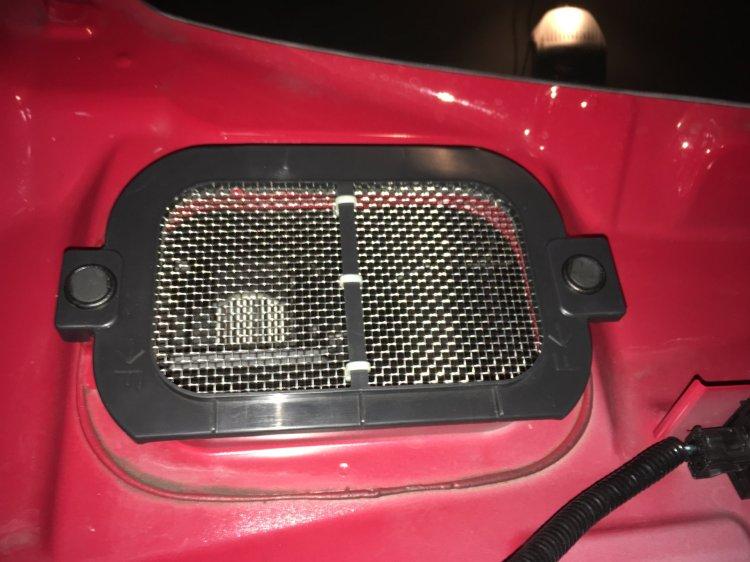 Heater intake 3